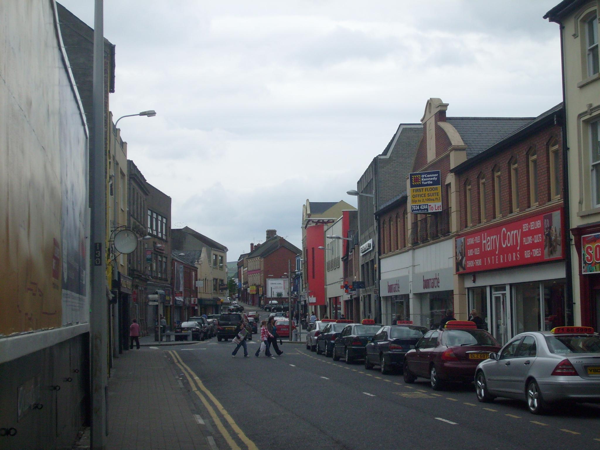 Strabane high street