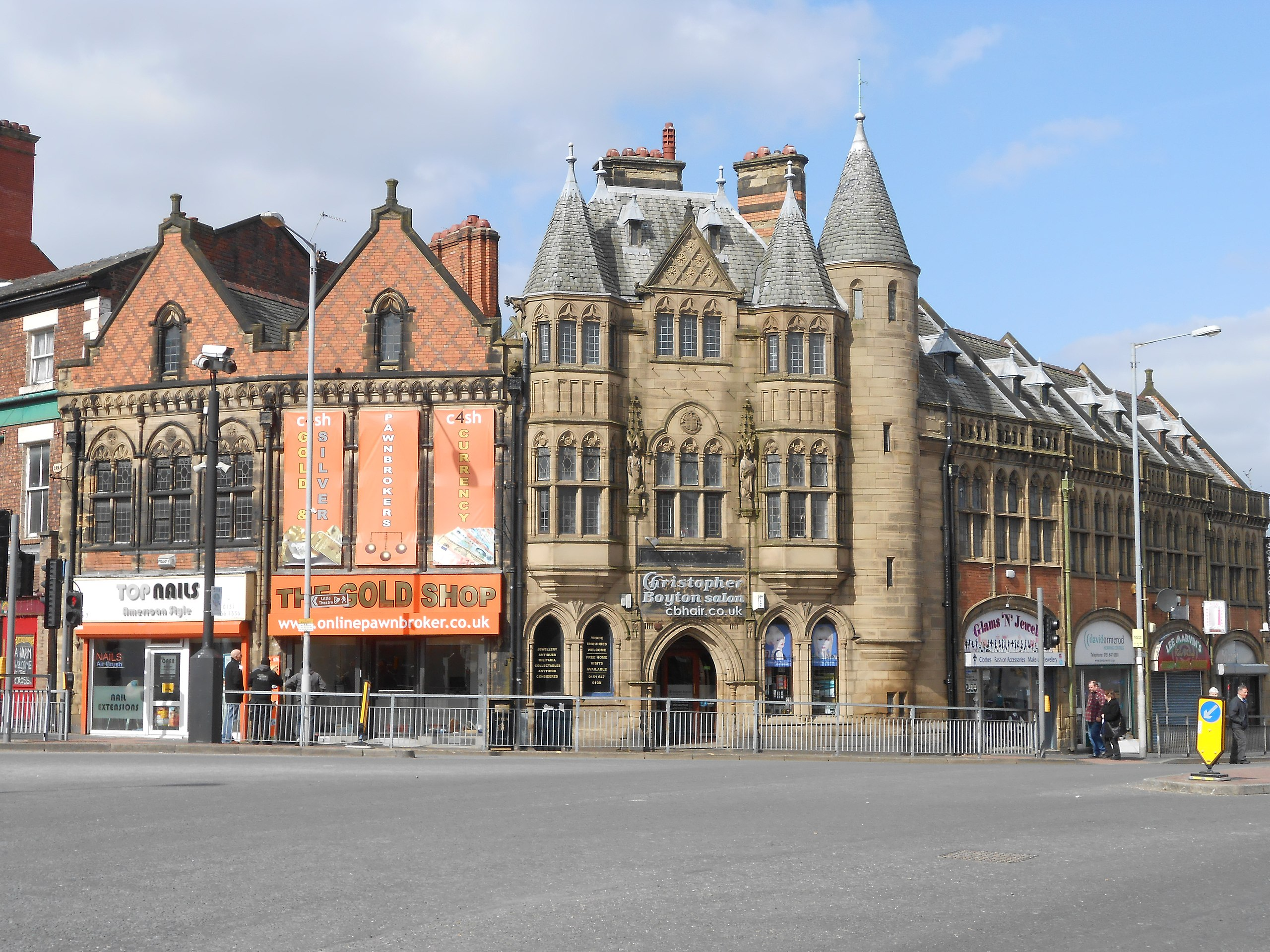 Birkenhead high street
