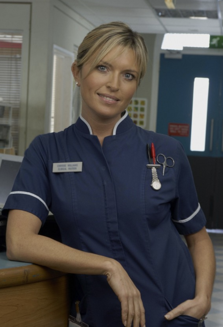 BBC Holby City Chrissie THEN