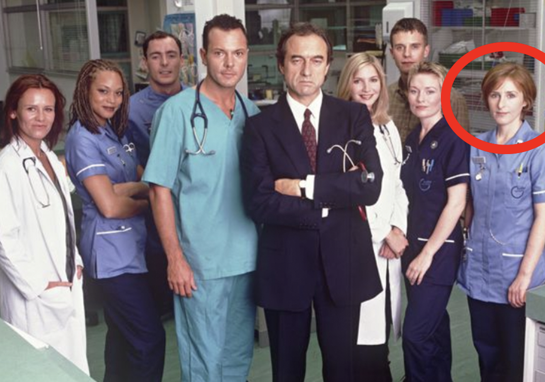 BBC Holby City Julie THEN