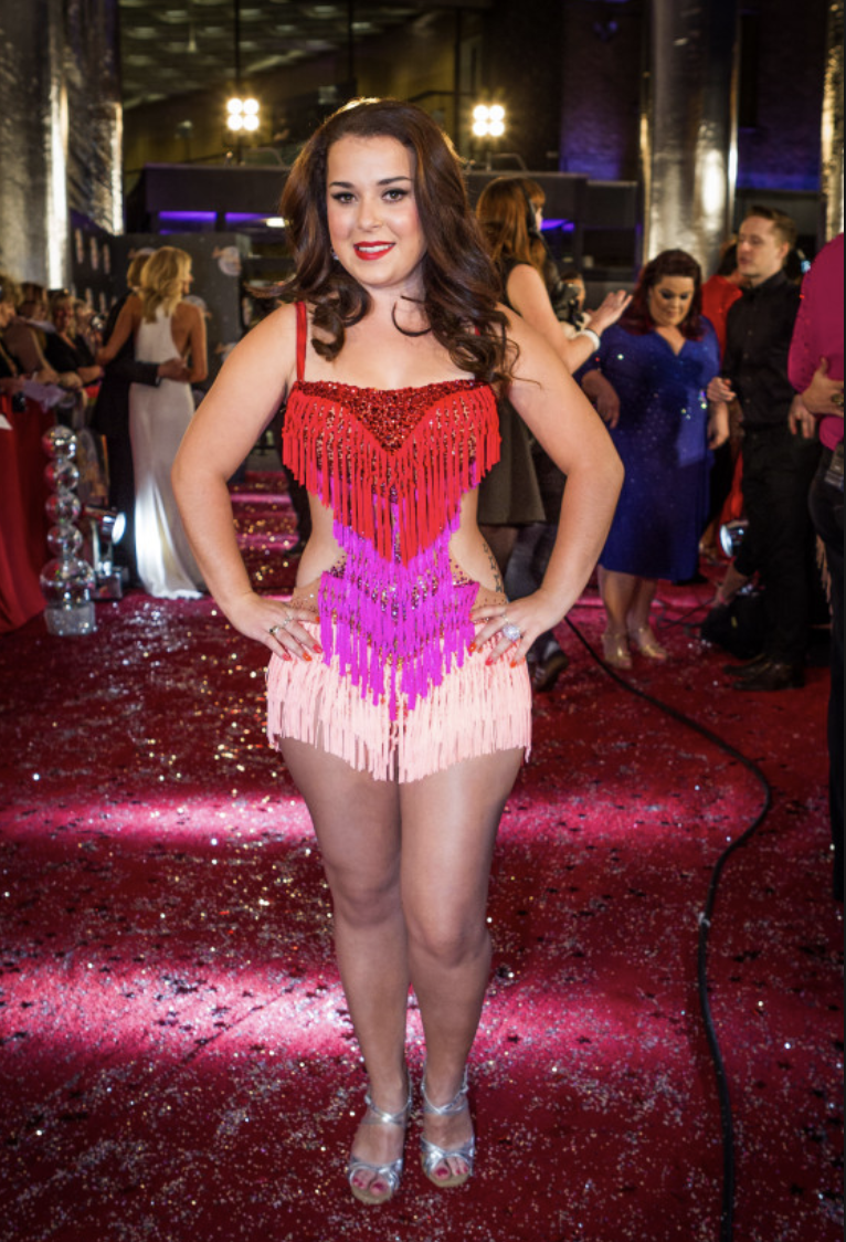 dani harmer on strictly come dancing