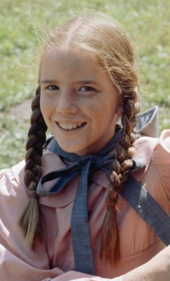little house on the prairie laura as a child smiling