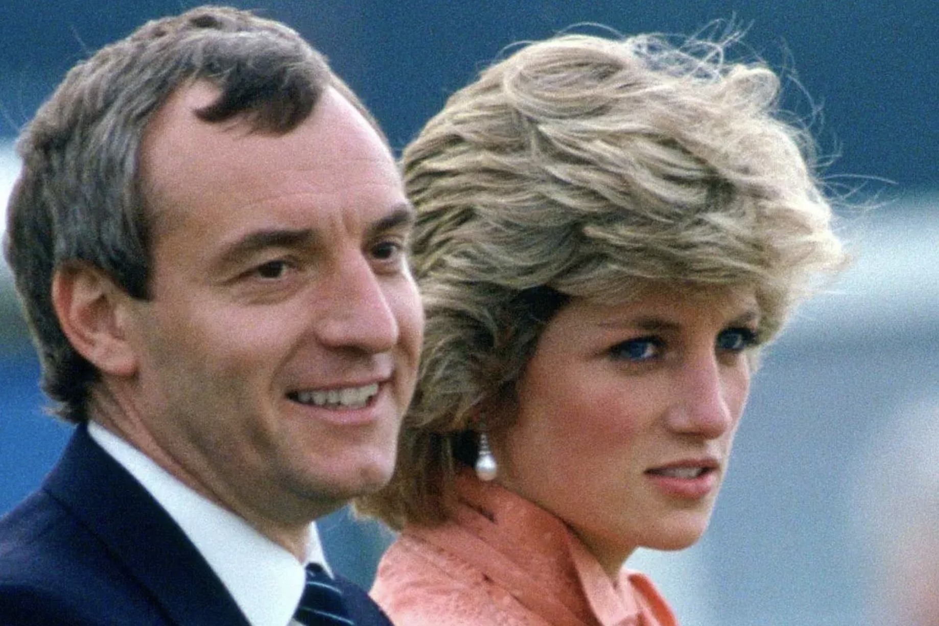 Barry Mannakee and Princess Diana