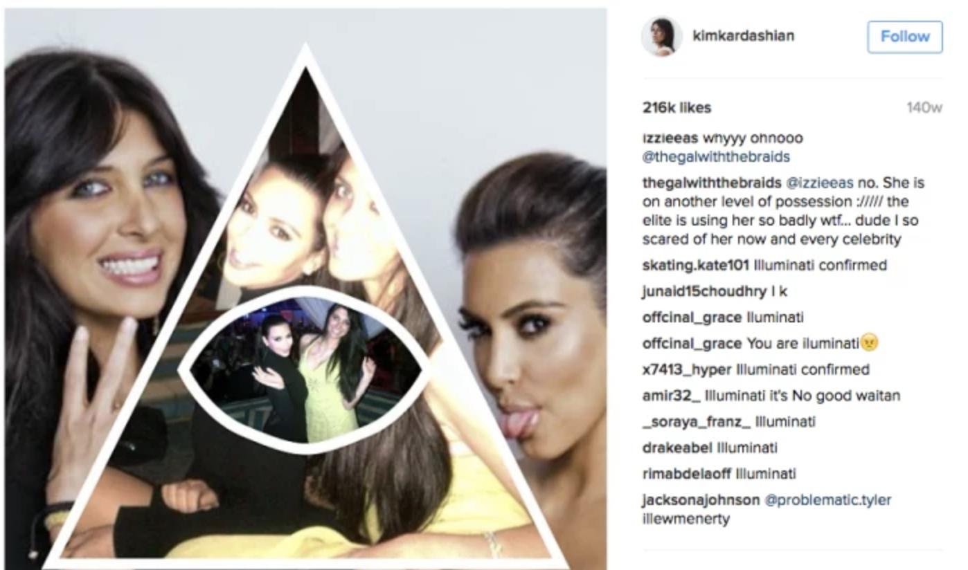 kim kardashian instagram post