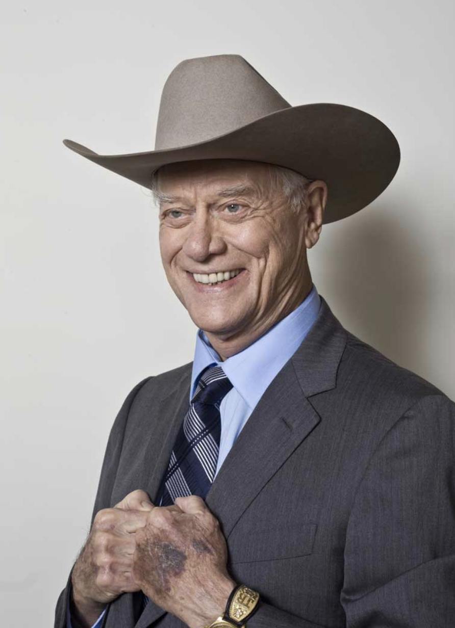 cast of dallas Larry Hagman