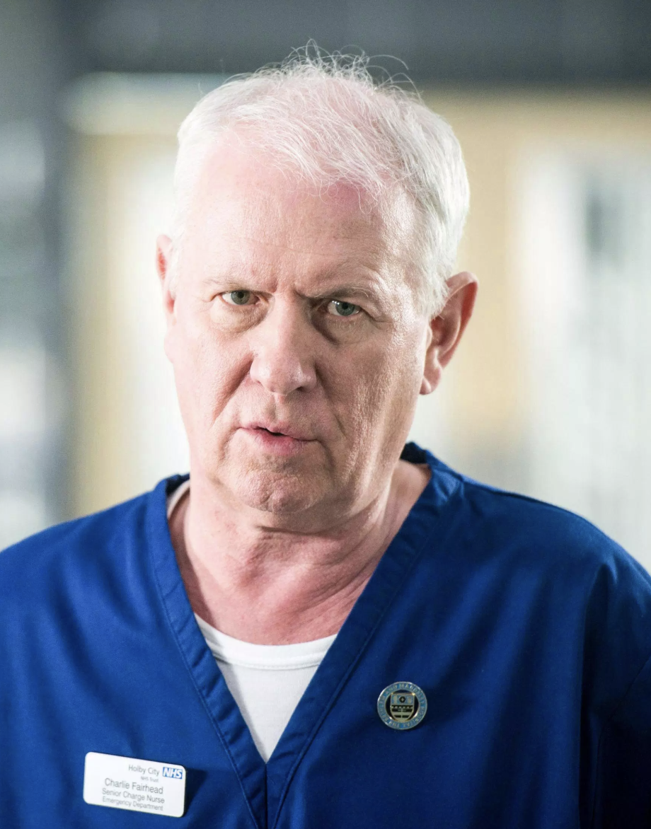 BBC Casualty's Charlie NOW