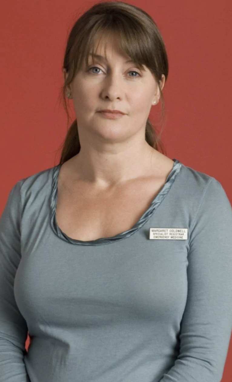 BBC Casualty's Maggie THEN
