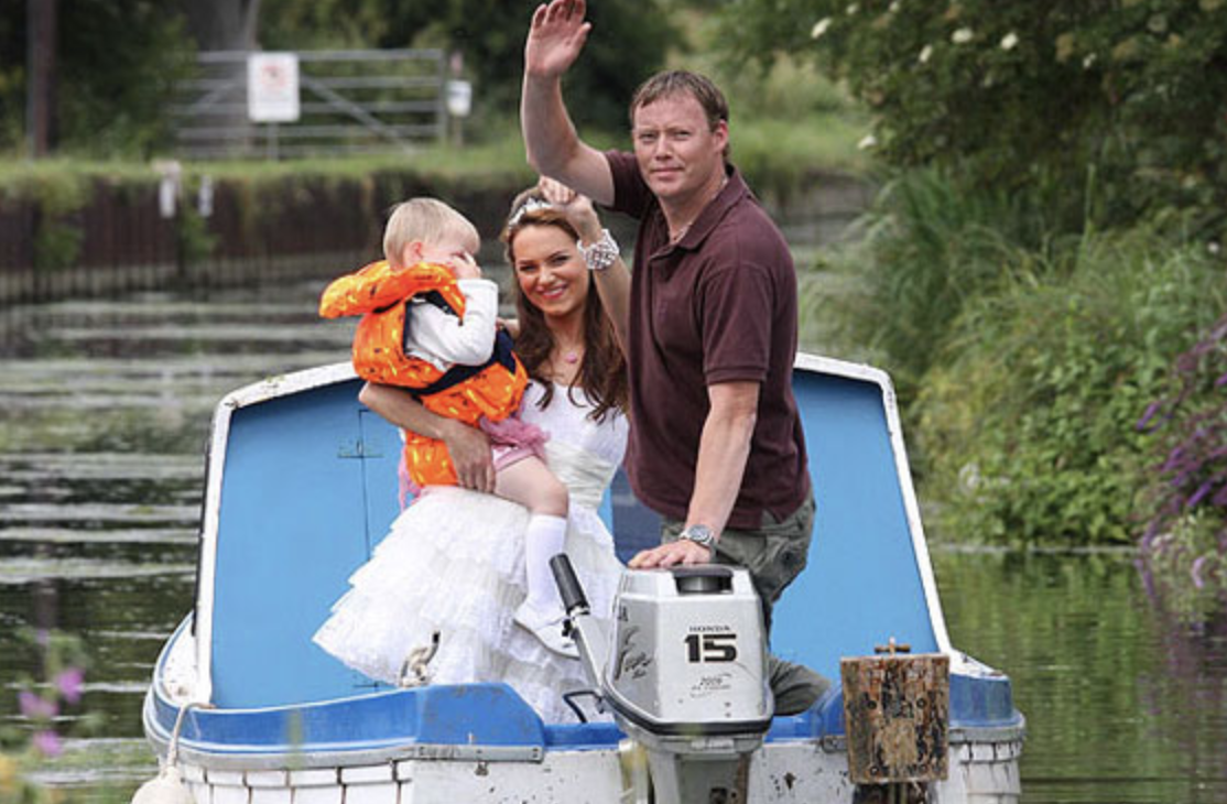 Minty Eastenders Garry and Dawn boat
