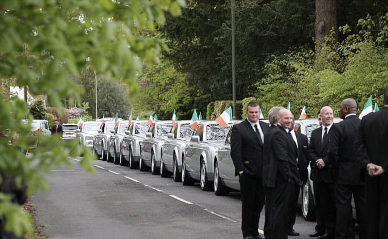 Paddy Doherty Dads Funeral