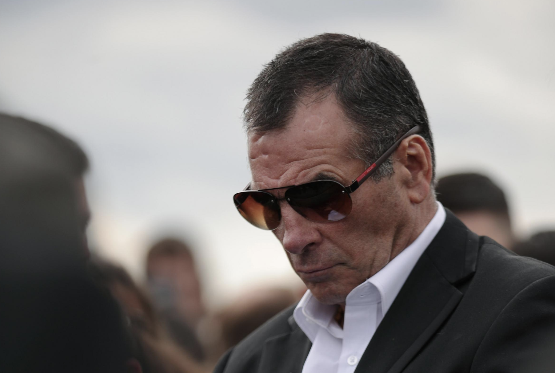 Paddy Doherty Looking Mournful