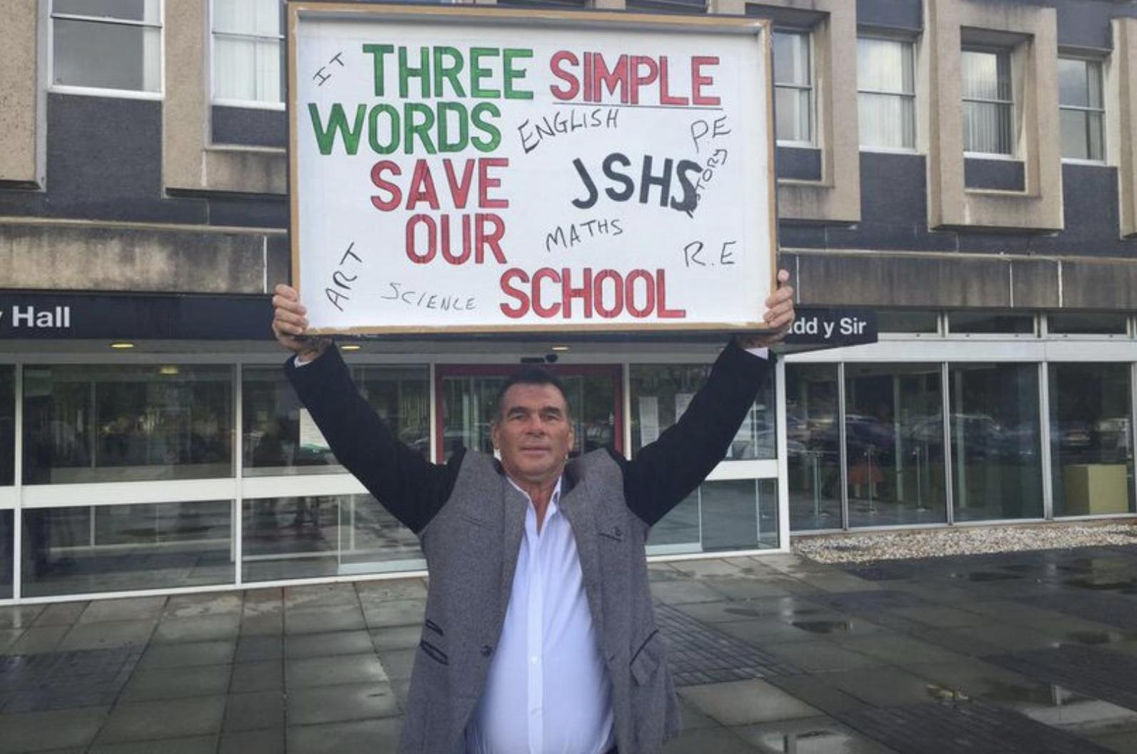Paddy Doherty Saves School