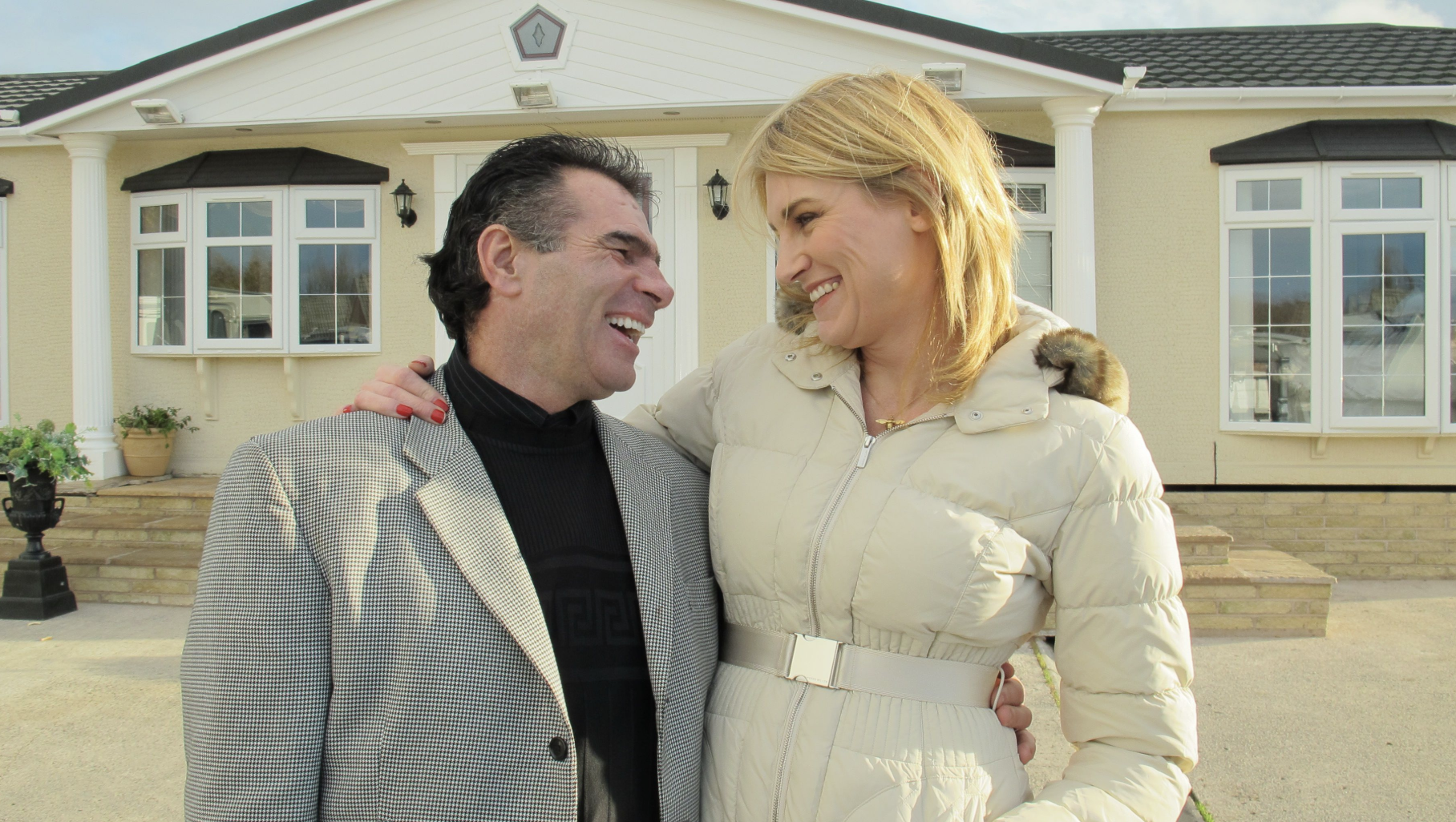 Paddy Doherty and Sally Bercow