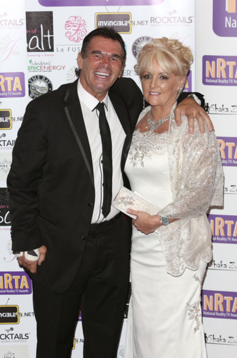 Paddy Doherty and Wife