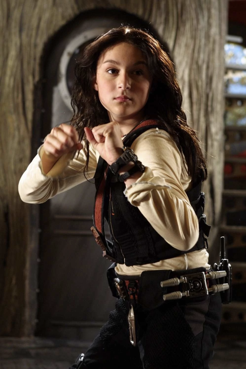 Carmen from Spy Kids (THEN) ready for action
