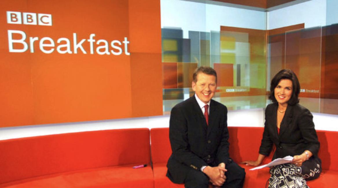Susanna Reid BBC Breakfast 2003