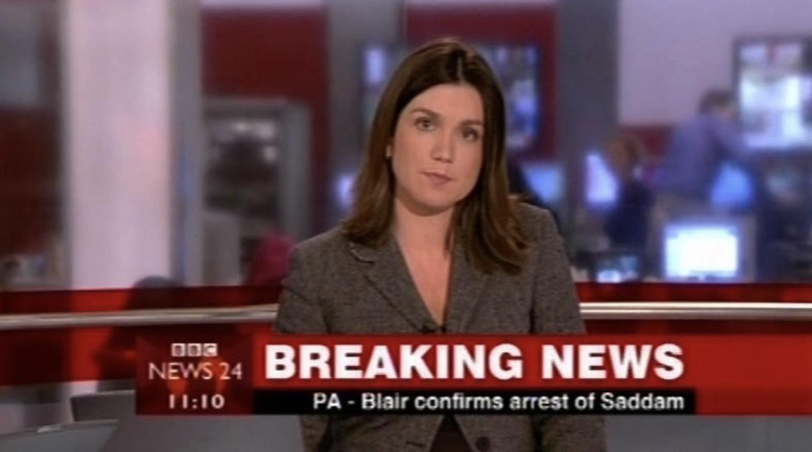 Susanna Reid BBC News 24