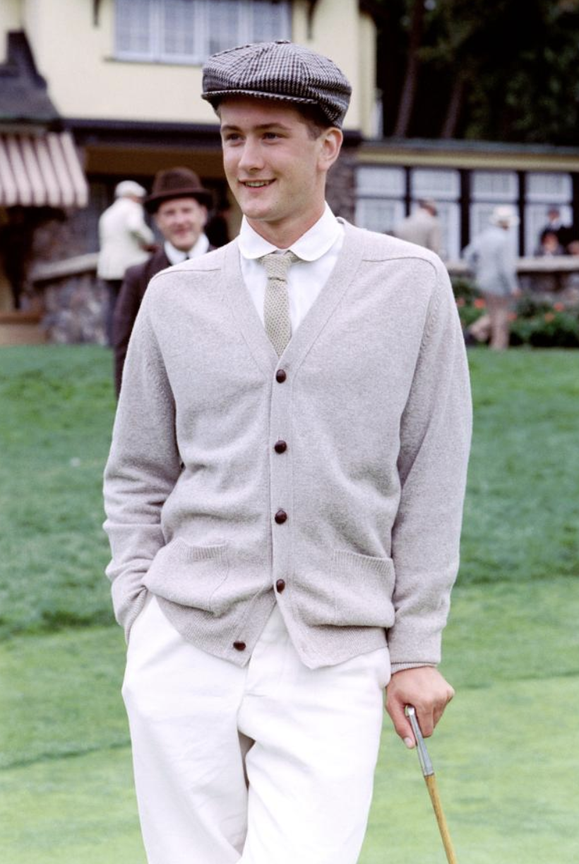 Zig Zag Holes - Max Kasch as Freddie Wallis in the movie The Greatest Game Ever Played