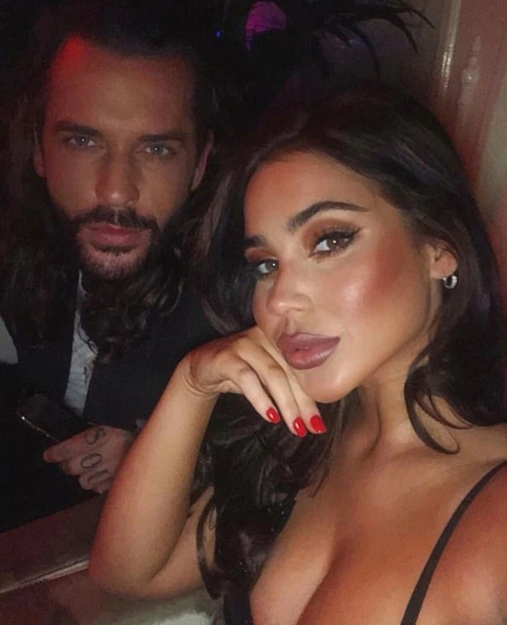 pete wicks and ex georgina mullins