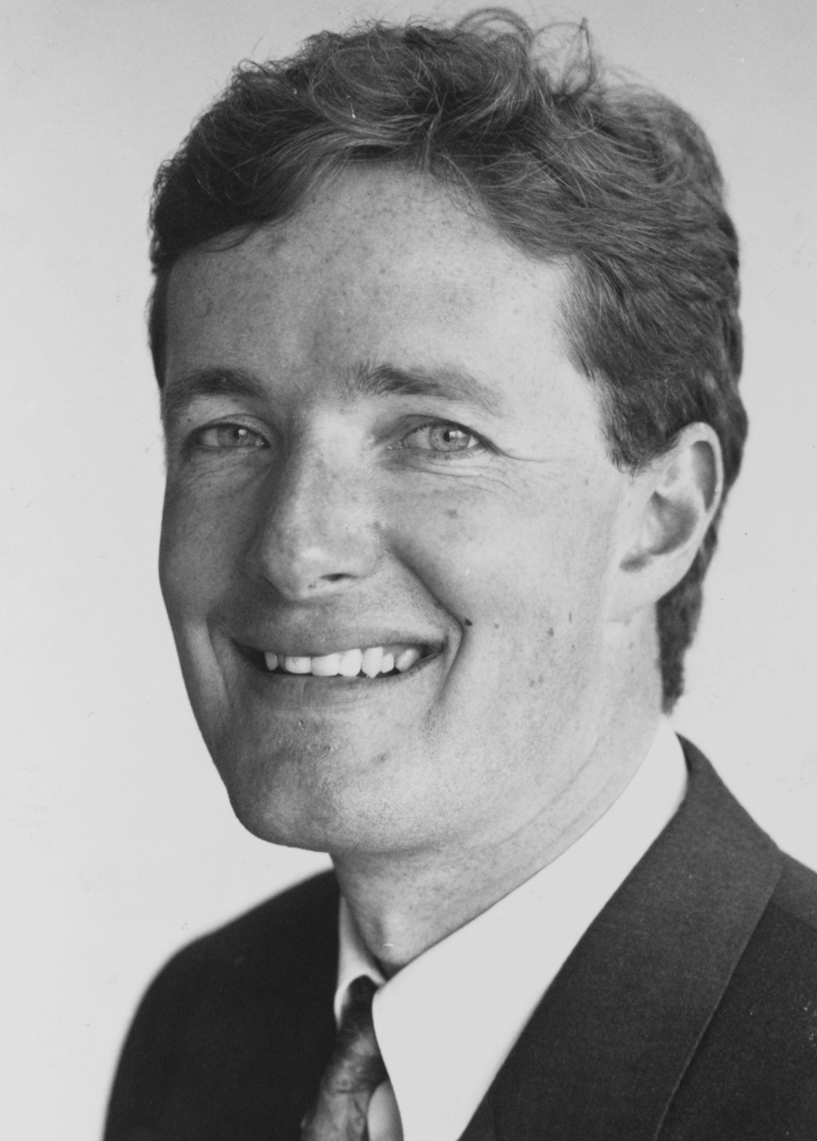 Piers Morgan As A Young Man