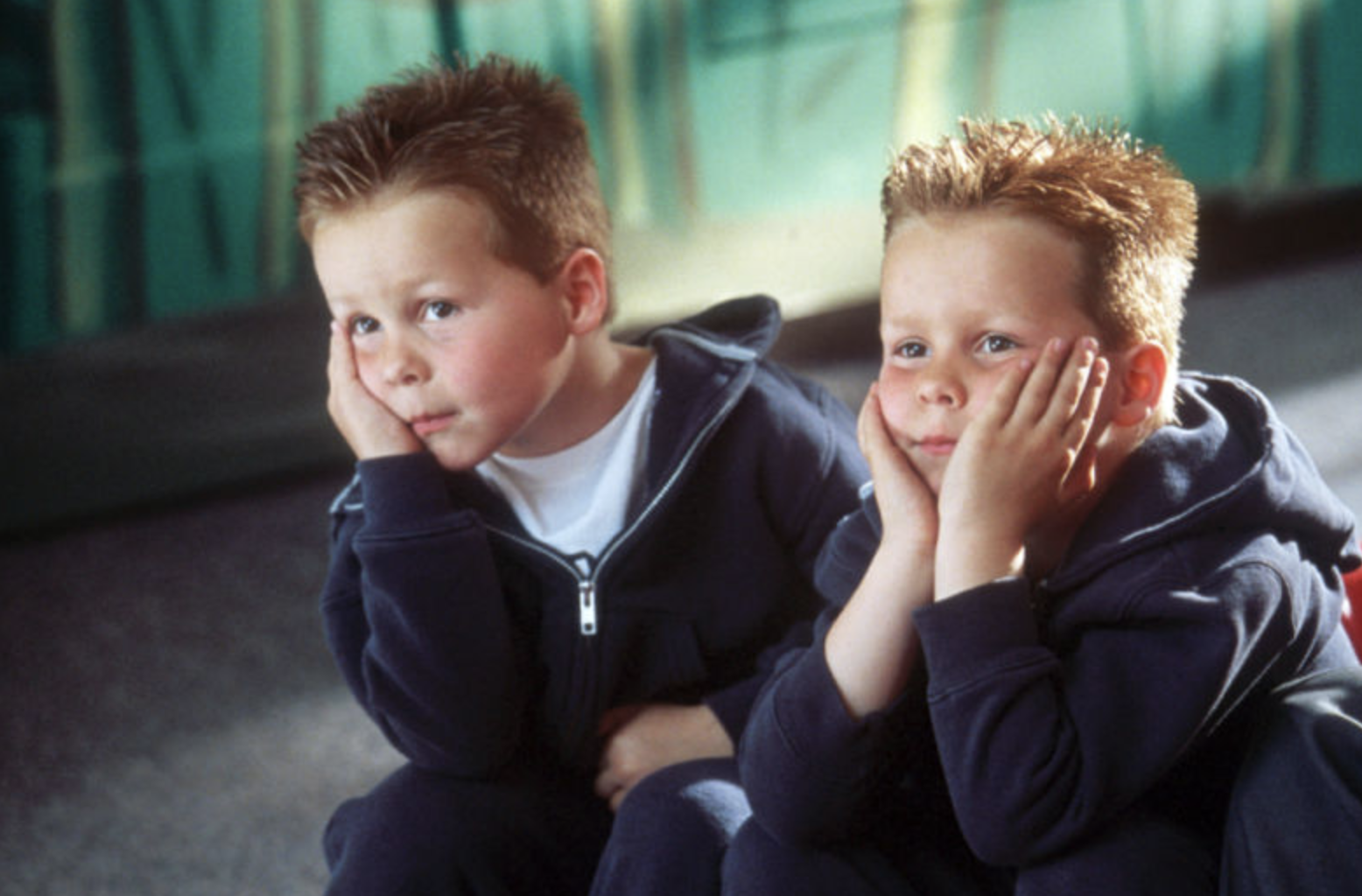 Cheaper By The Dozen Twins Kyle and Nigel Baker from a movie still