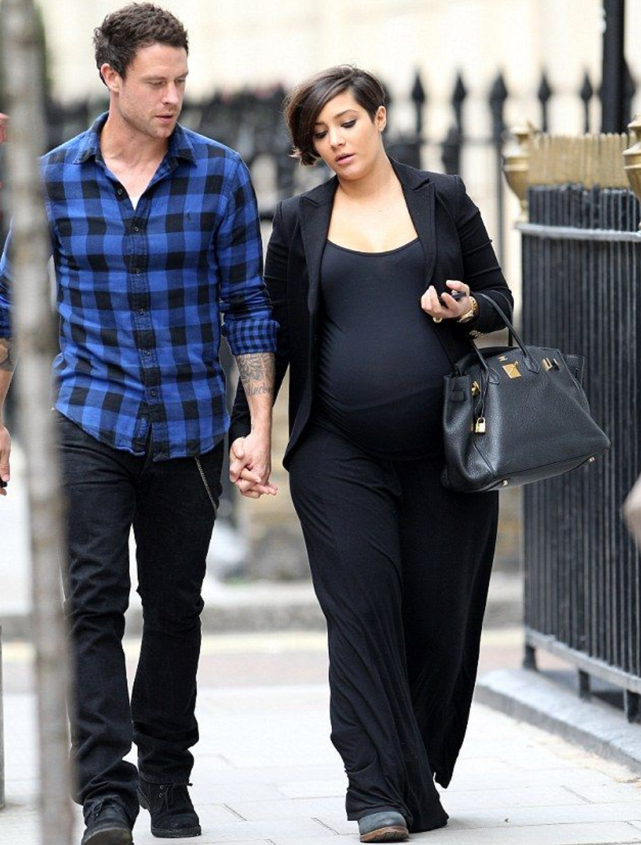frankie bridge pregnant with first child