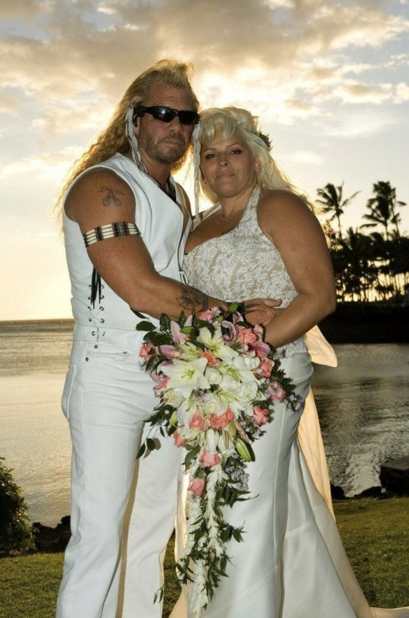 Duane and Beth Chapman's wedding day