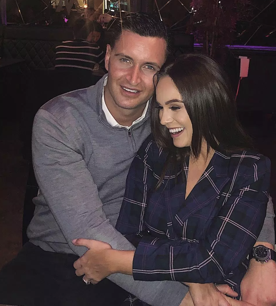 john noble and vicky pattison in happier times