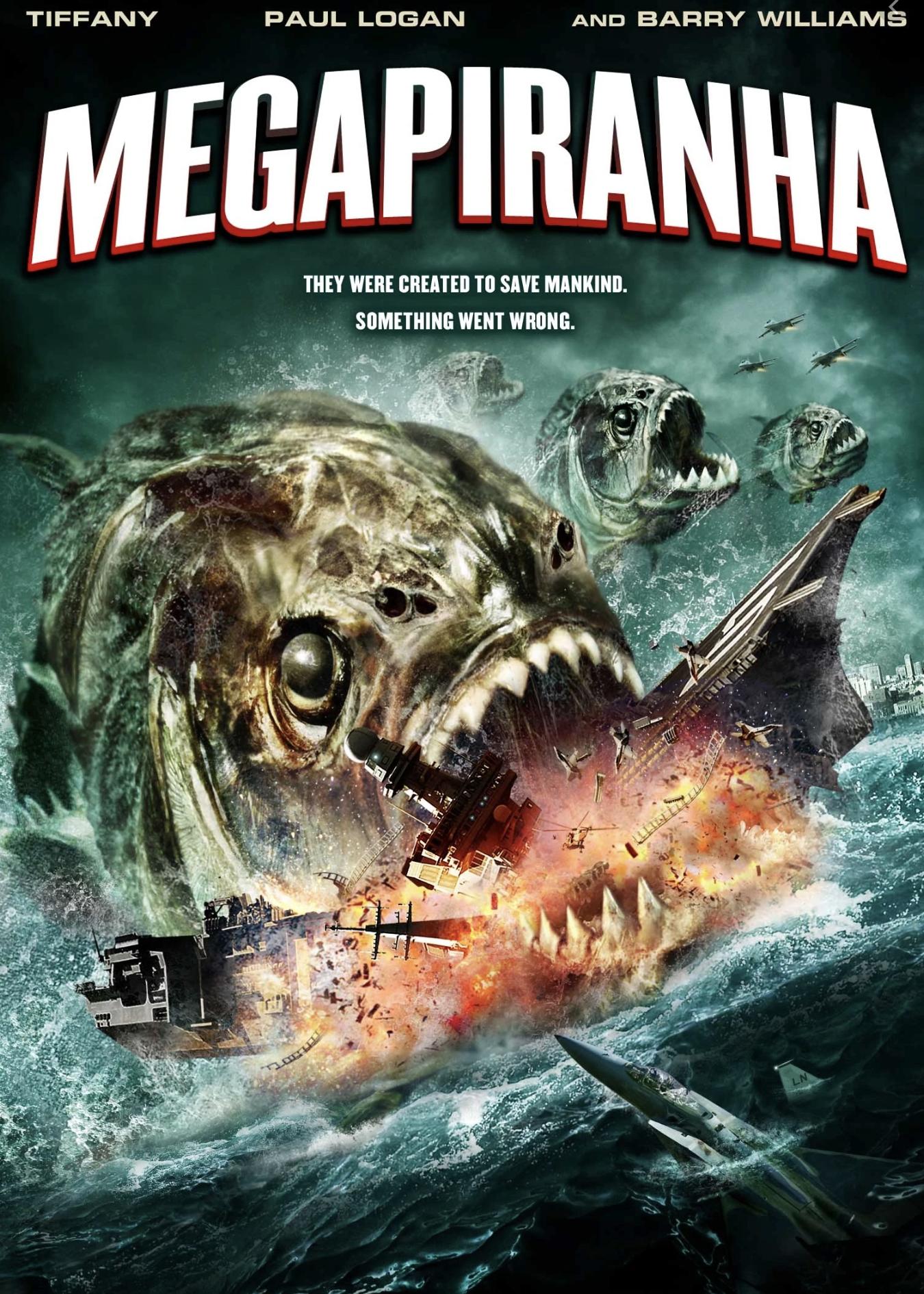 MegaPiranha movie poster
