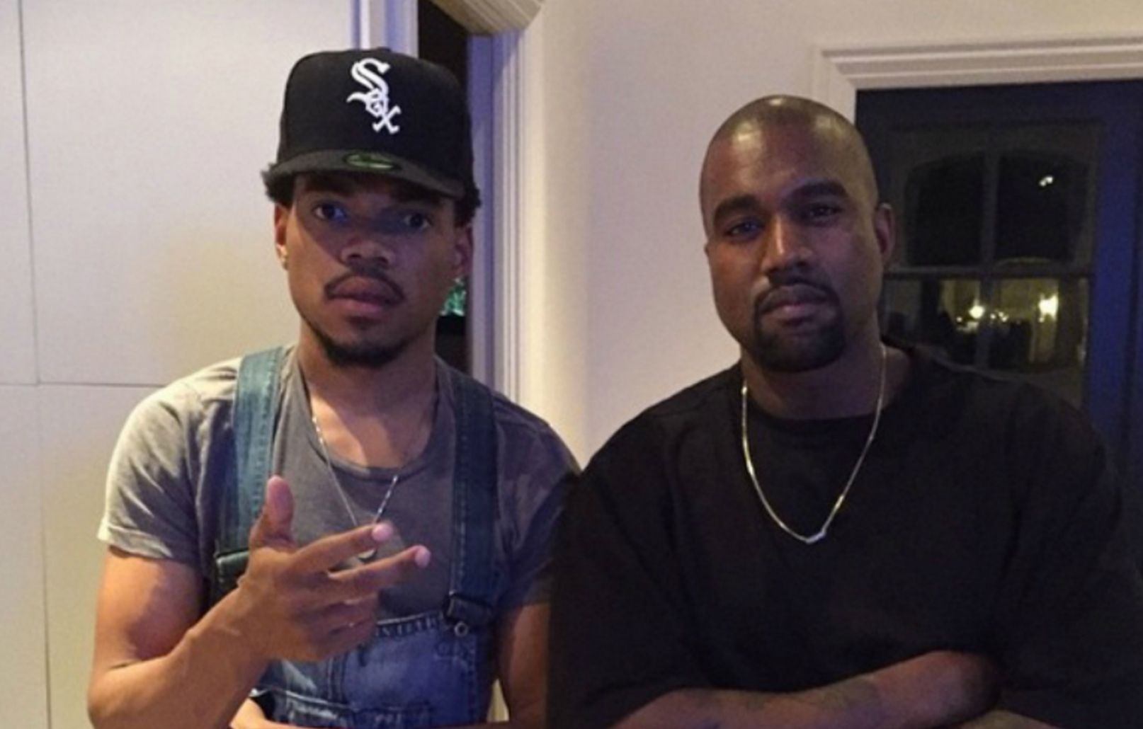 Chance The Rapper and Kanye West