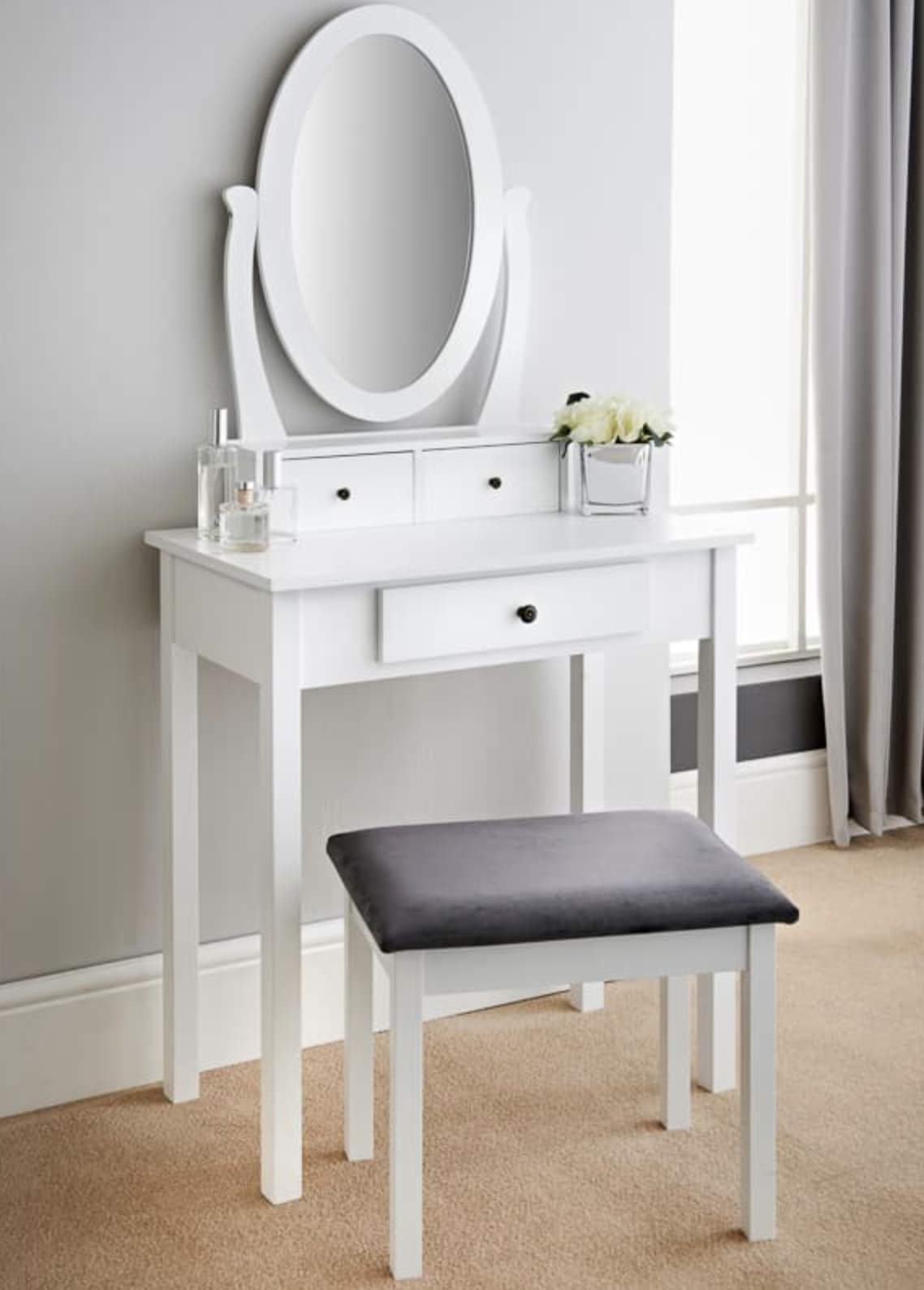 b&m stores furniture vanity table