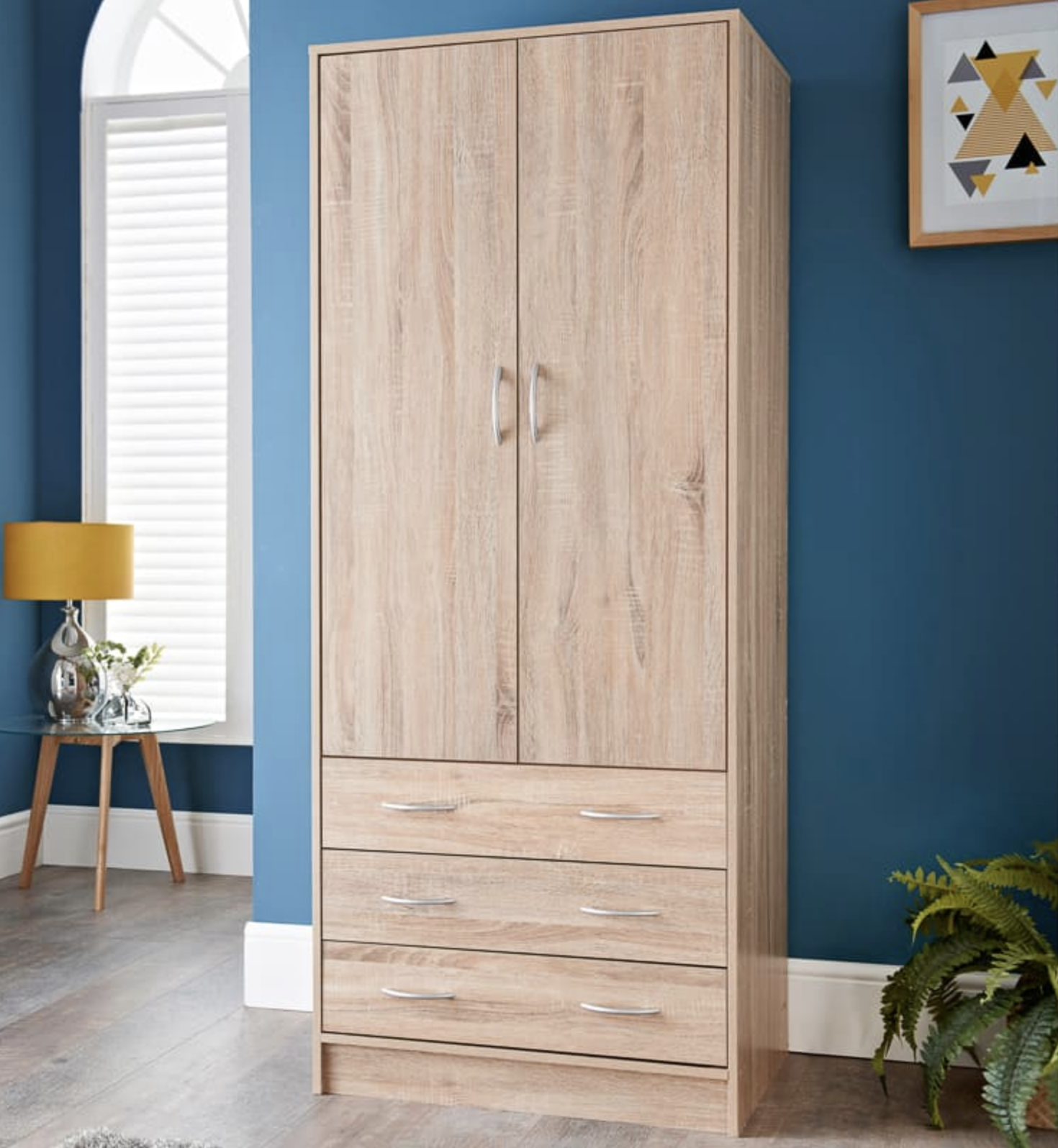b&m stores furniture wardrobe