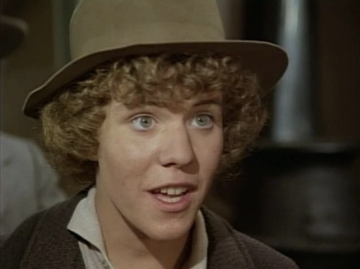 Mike Lookinland in Little House on the Prairie (1977)