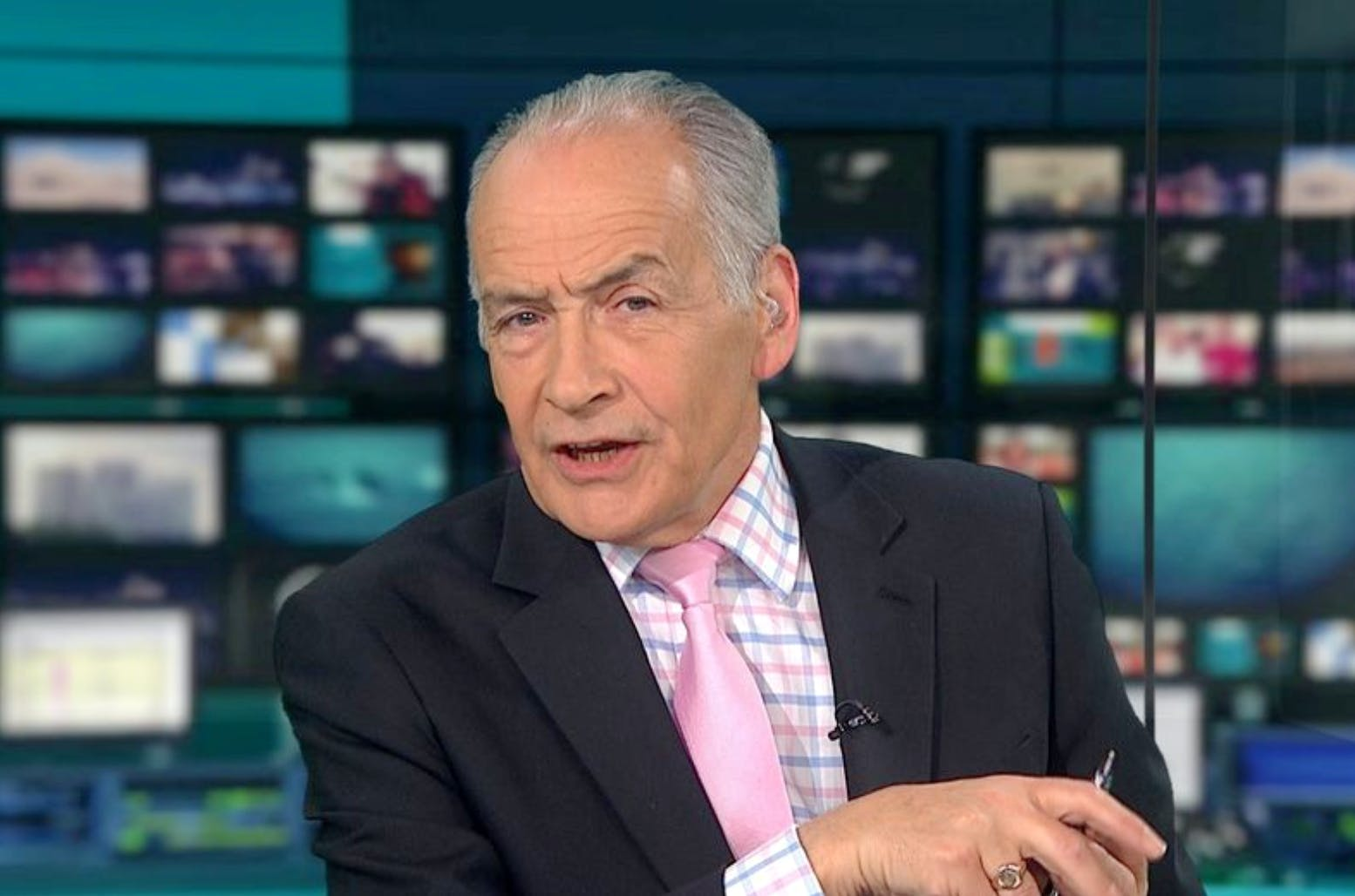 ITV broadcaster Alastair Stewart was even defended by his accuser