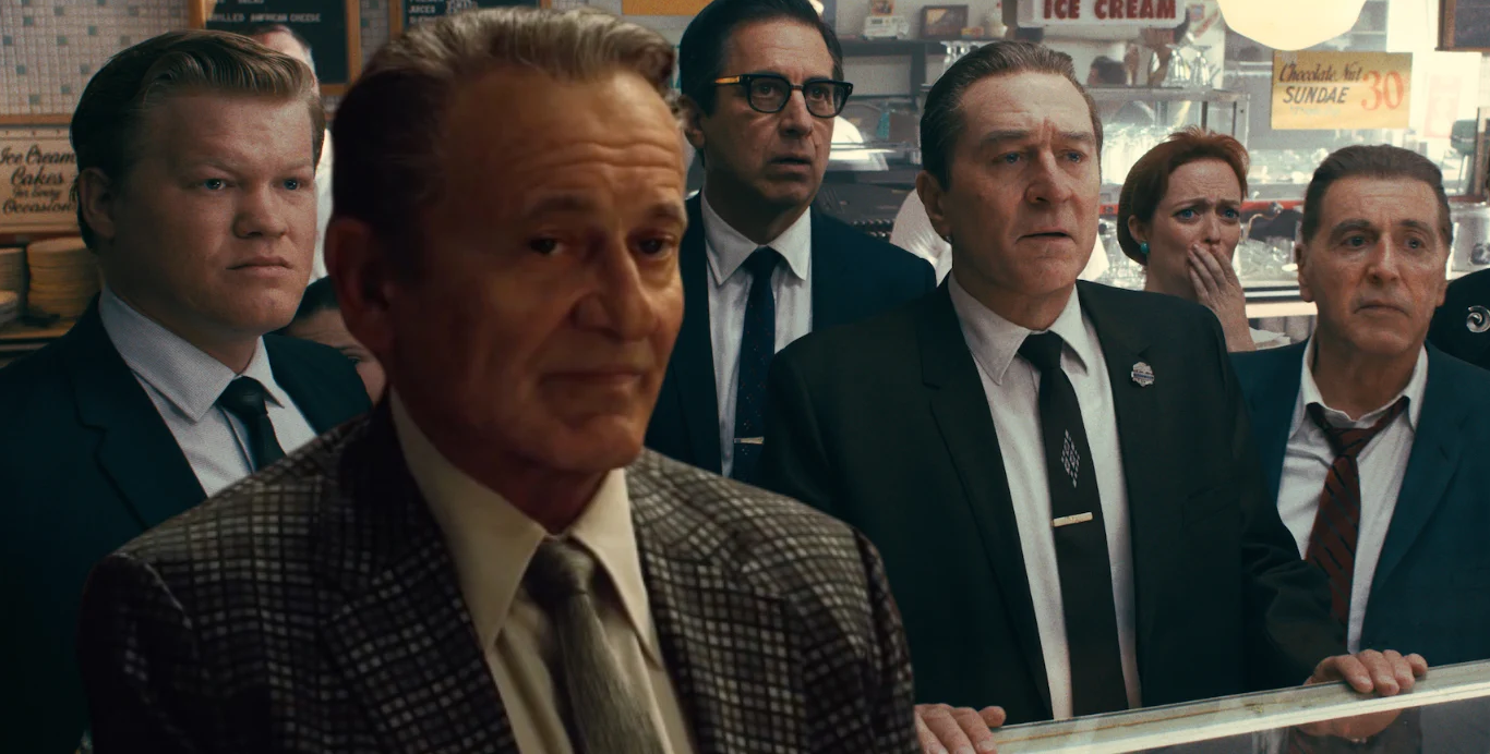 The star studded Irishman cast combines legendary stars with memorable role players