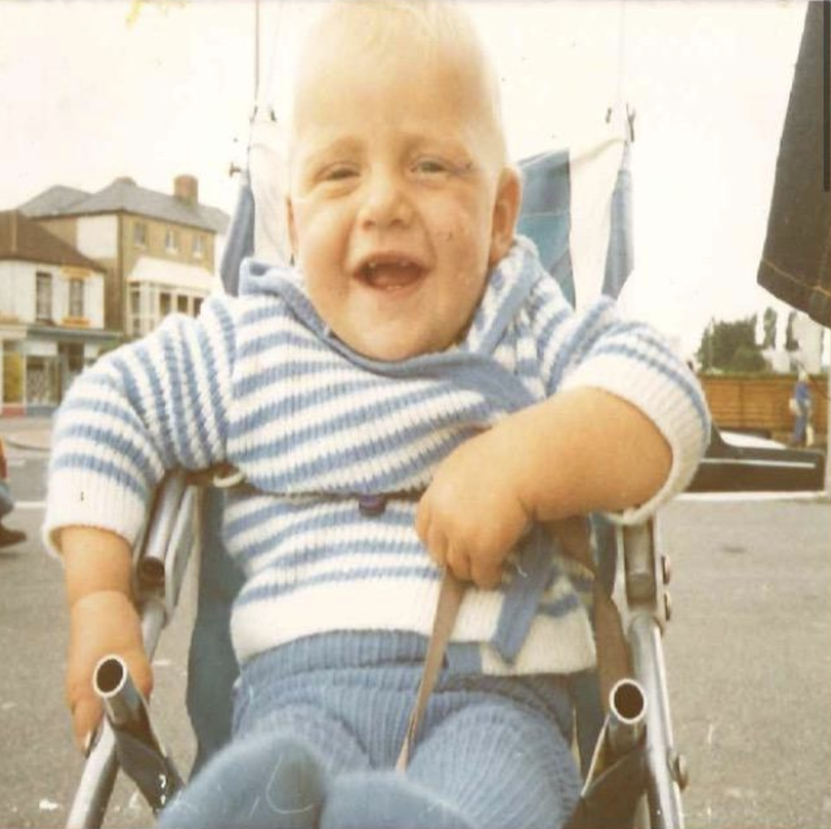 freddie flintoff baby photo