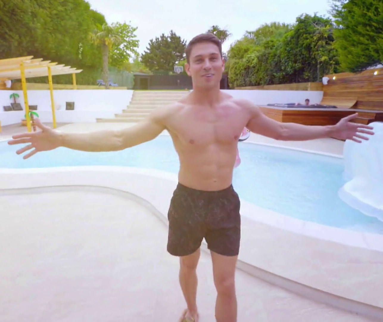 Joey Essex House pool