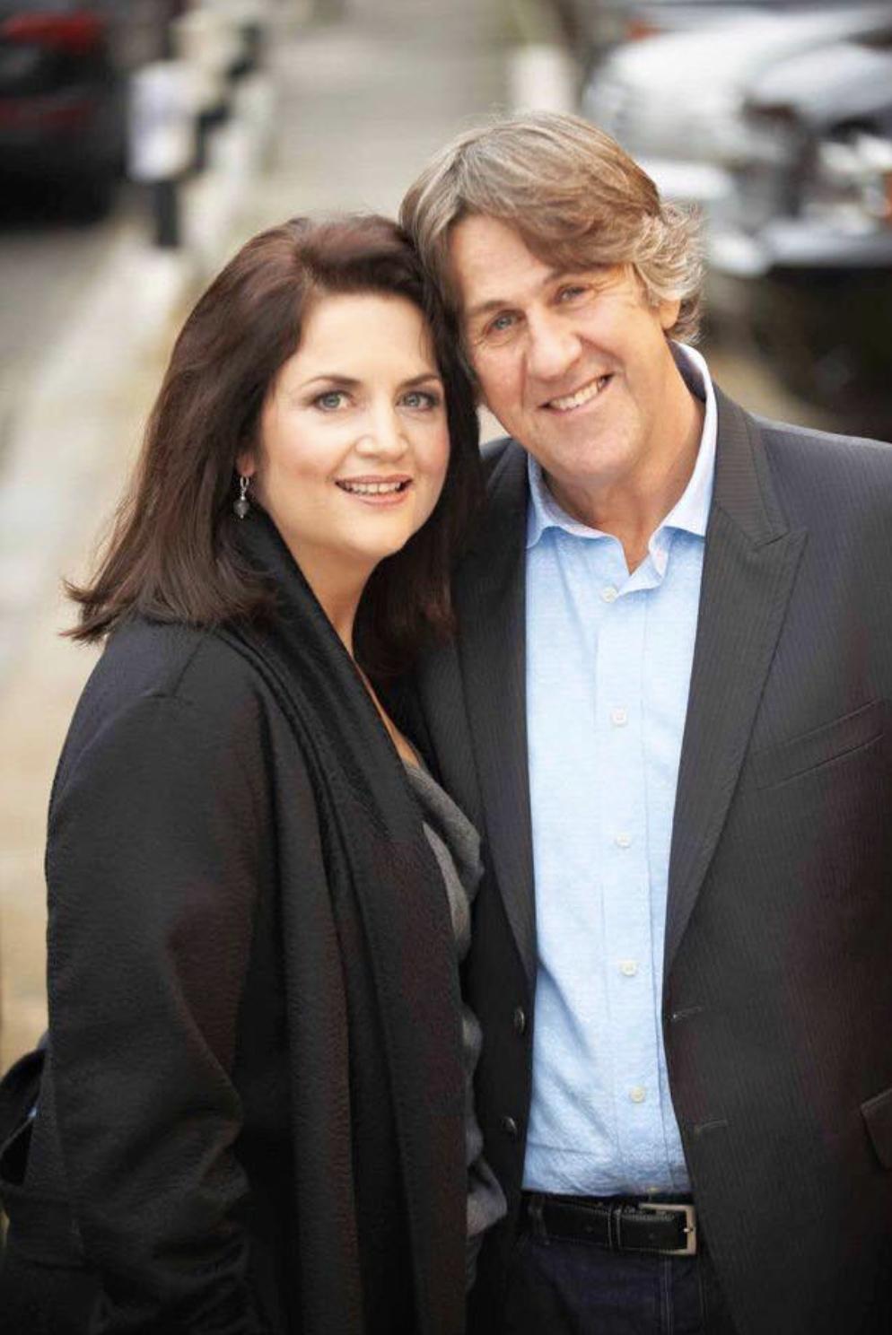 Ruth Jones and her husband