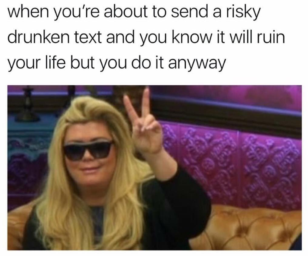 gemma collins memes risky text