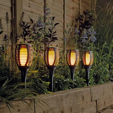 Argos Home Solar Dancing Flame Torch