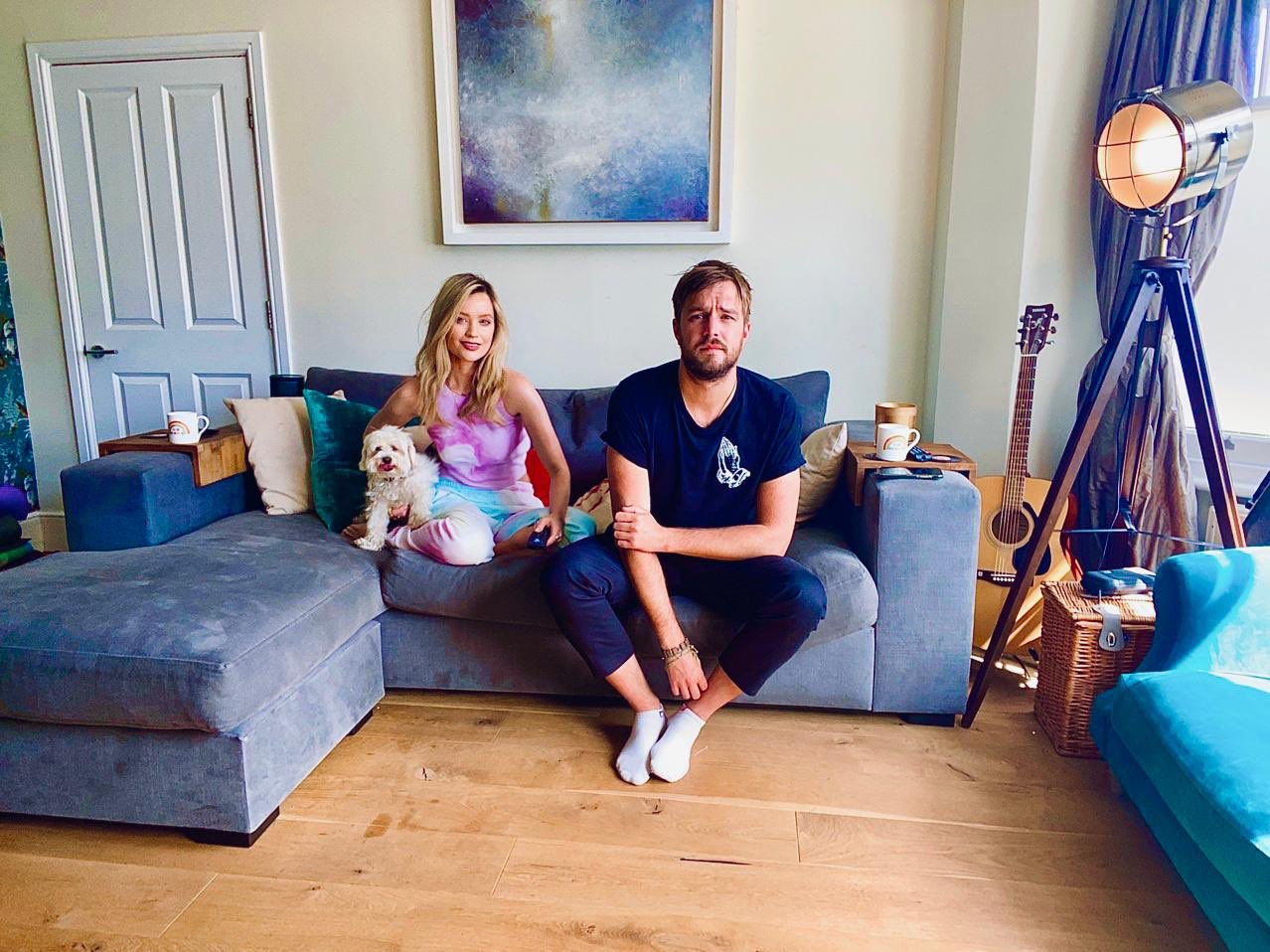 Laura Whitmore Iain Stirling Gogglebox