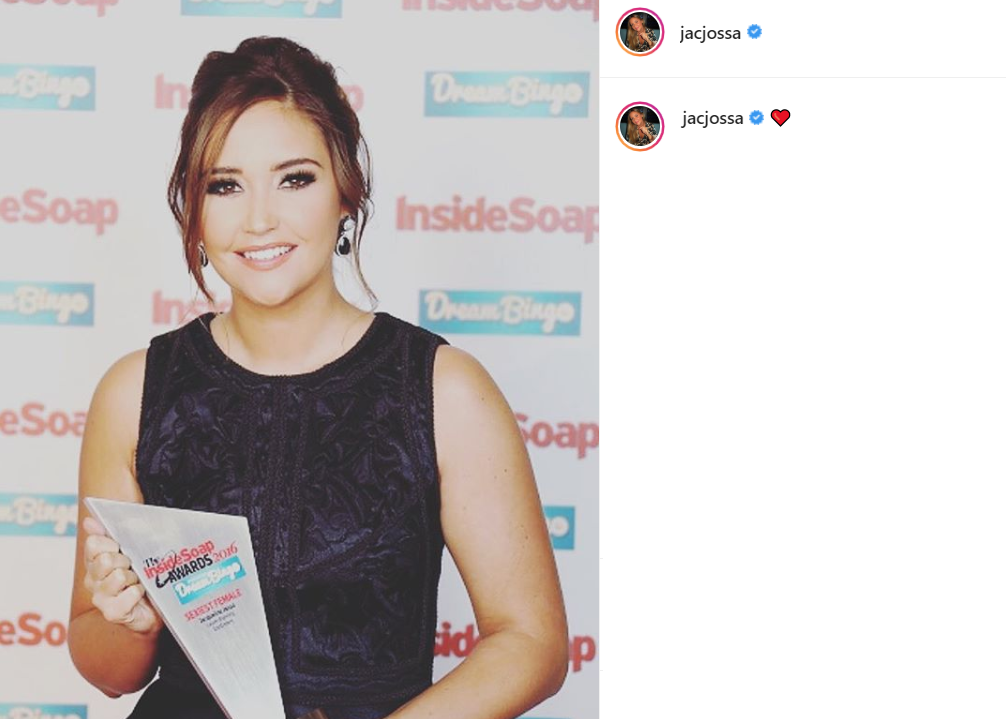 Jacqueline Jossa awards