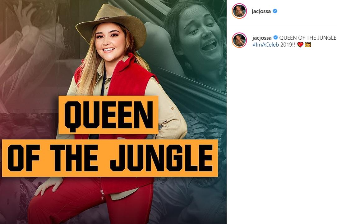 Queen o the Jungle Jacqueline Jossa