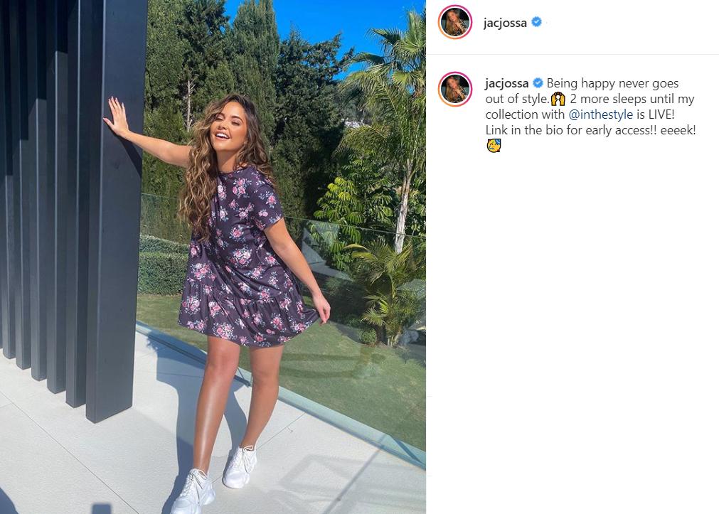 Jacqueline Jossa Instagram Always Smilling