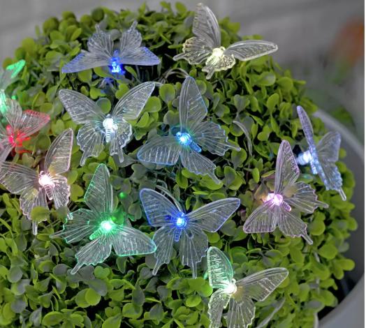 argos butterly lights