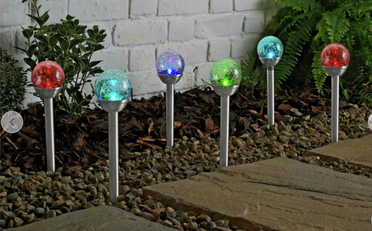 argos glass lights