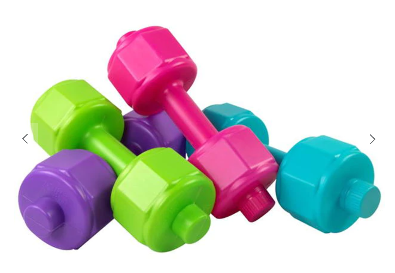 argos weights bottle