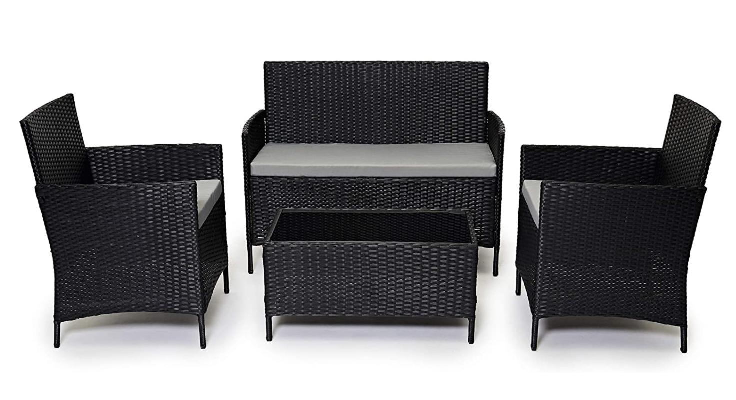 Amazon Garden Furniture Rattan Set